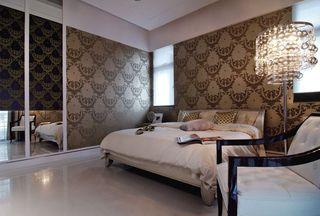 时尚现代卧室壁纸效果图