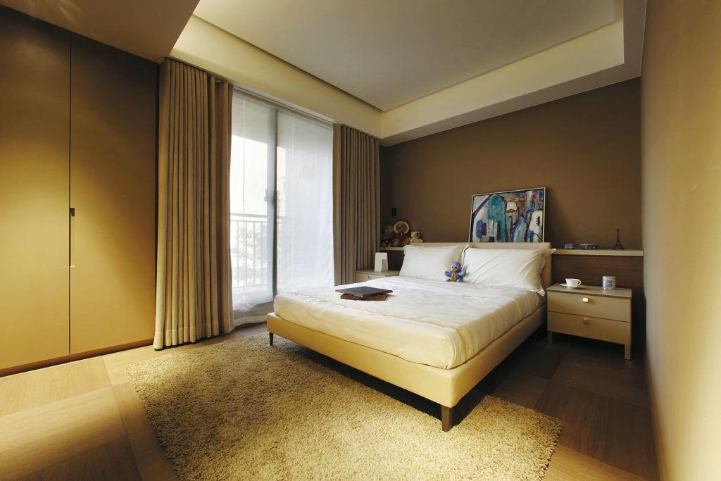 原木自然现代风卧室装饰大全