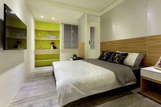现代简约风格卧室装修图