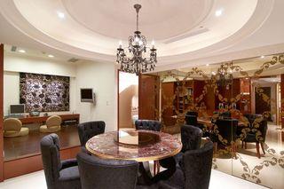 高贵奢华欧式餐厅设计