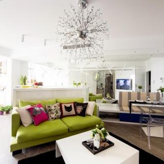 时尚现代48平一居装修设计