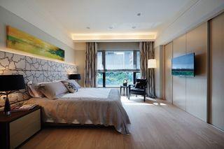低奢时尚现代风卧室装潢欣赏