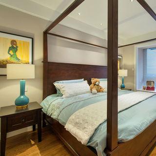 美式风格经典卧室装修图片