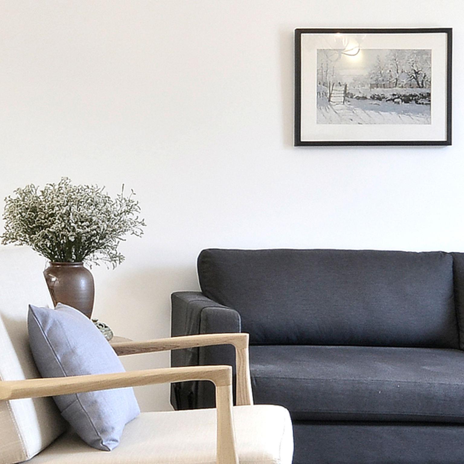 宜家日式风格 局部沙发效果图