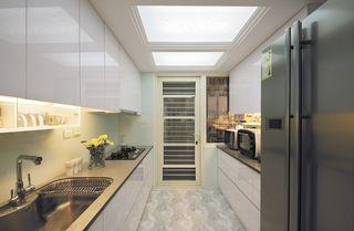 简欧田园风厨房天窗设计