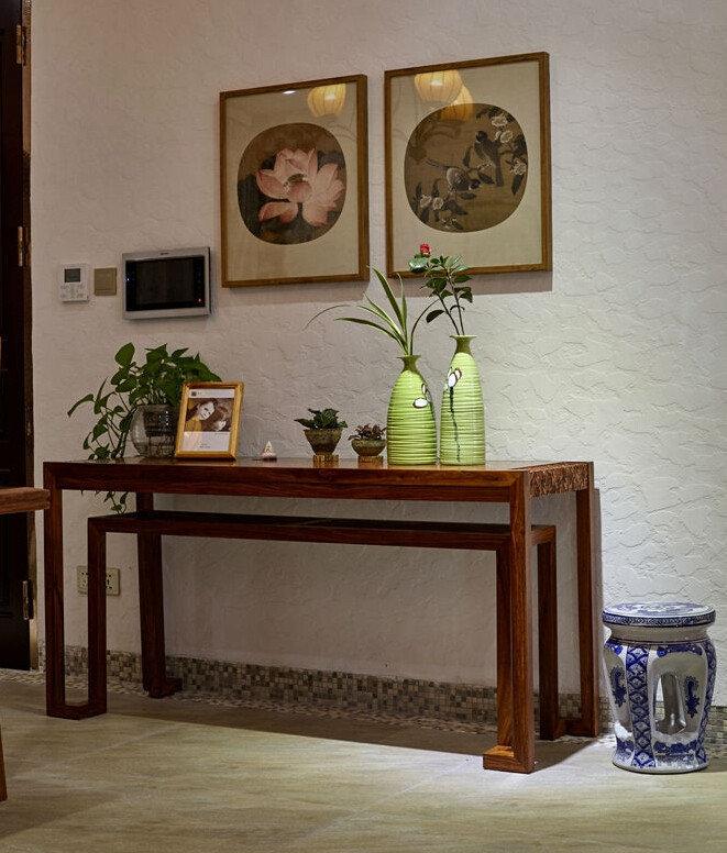小清新中式家居装饰画欣赏