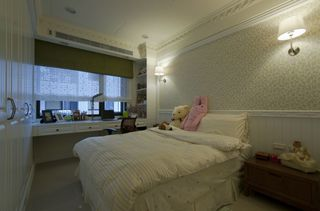 素雅浪漫简欧风卧室设计图