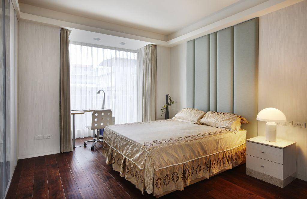 休闲美式风格卧室整体效果图