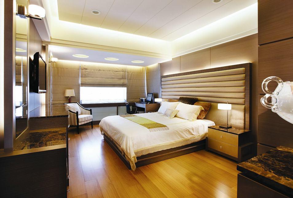 时尚现代卧室吊顶设计装修图