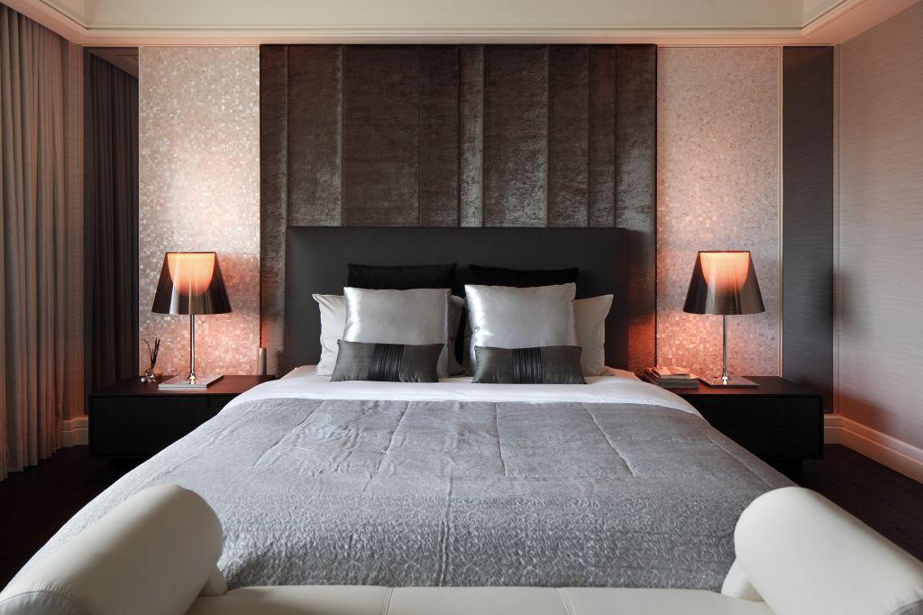 休闲美式室内卧室背景墙设计