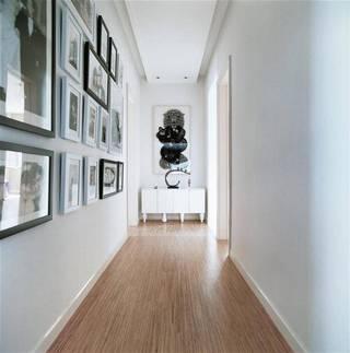 現代家居過道相片墻設計