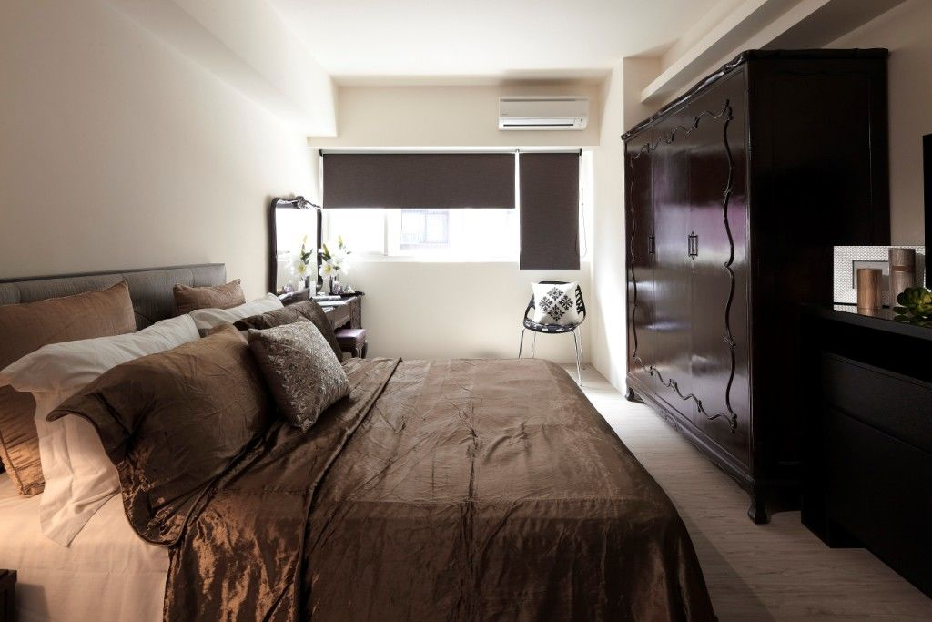 现代简约风卧室装饰效果图