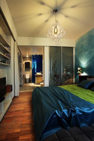 梦幻地中海风格卧室吊顶效果图