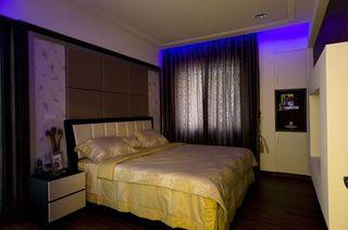 简约现代风卧室窗帘欣赏