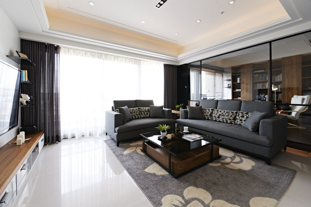 现代风格客厅家具设计