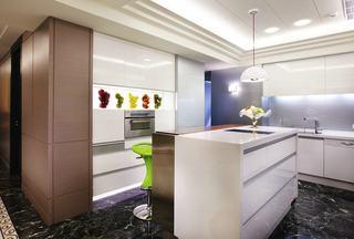 美式风格厨房吧台欣赏