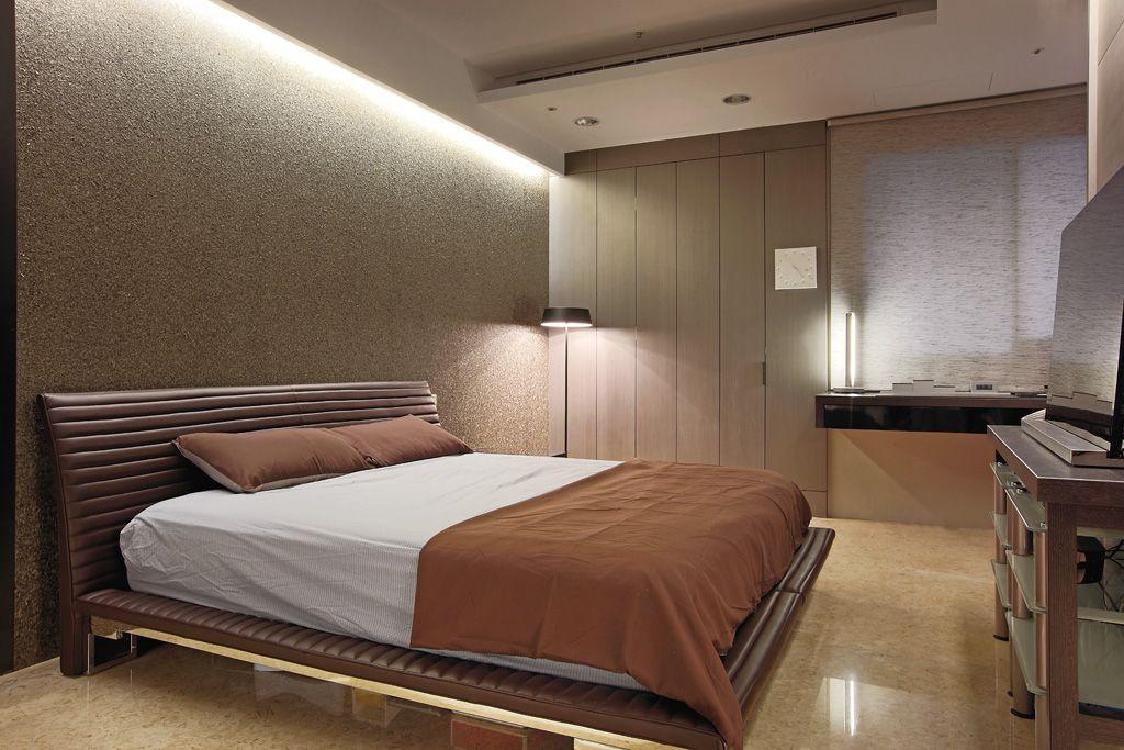 宜家现代风卧室图片大全