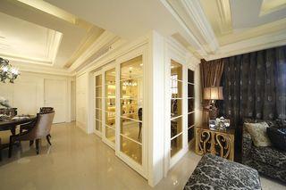 简洁美式风格家居隔断门设计