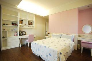 轻盈粉色新古典卧室美图