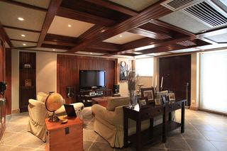 东南亚风格四室两厅装饰效果图