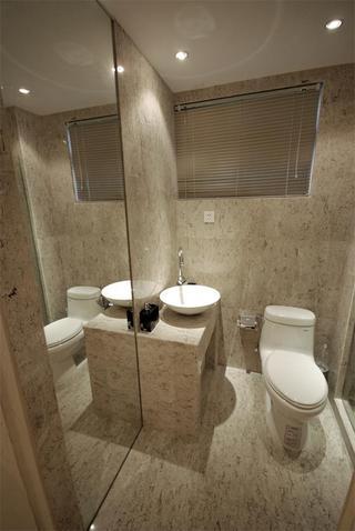 现代简约风情卫生间装饰设计