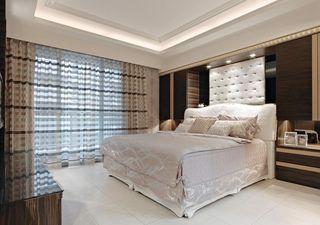 华丽优雅简欧风卧室美图欣赏