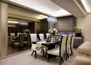 奢华典雅现代风餐厅家居设计