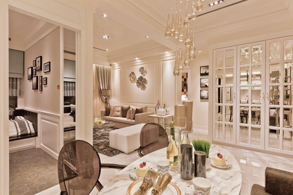 现代家居室内隔断设计图