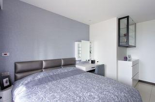 现代简约风 卧室背景墙设计