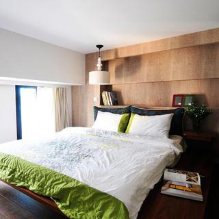 北欧卧室床头背景墙设计