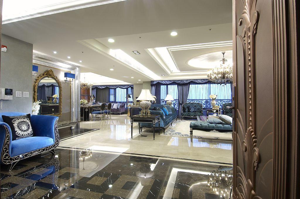 欧式古典奢华风 公寓室内装修图
