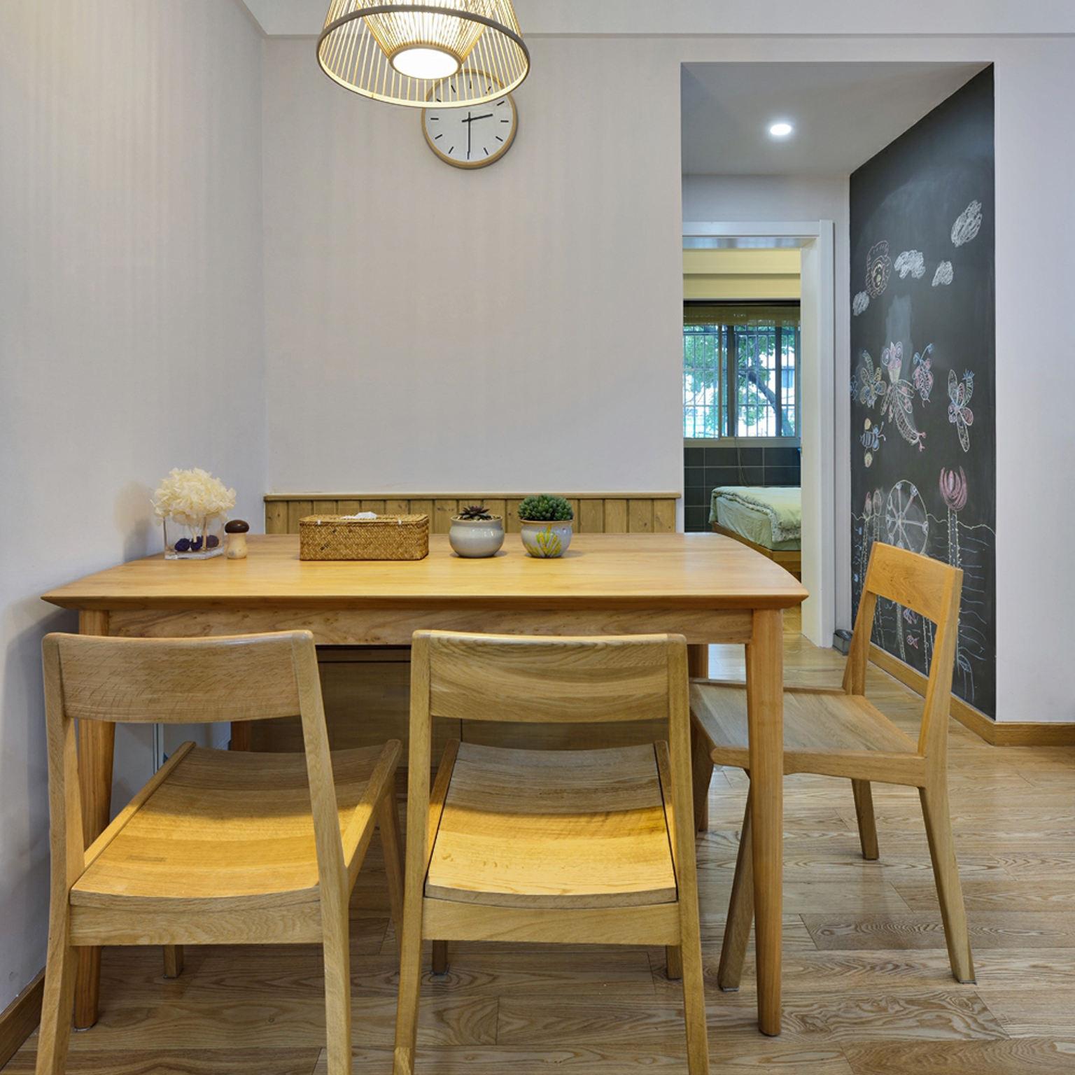 简洁日式餐厅设计装修效果图