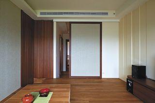 日式和風推拉門隔斷設計