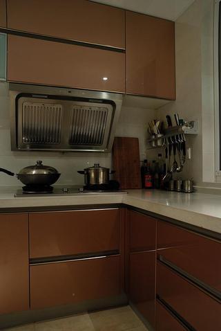 现代简约家装厨房橱柜设计