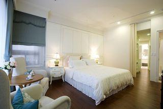 美式风格卧室隔断设计