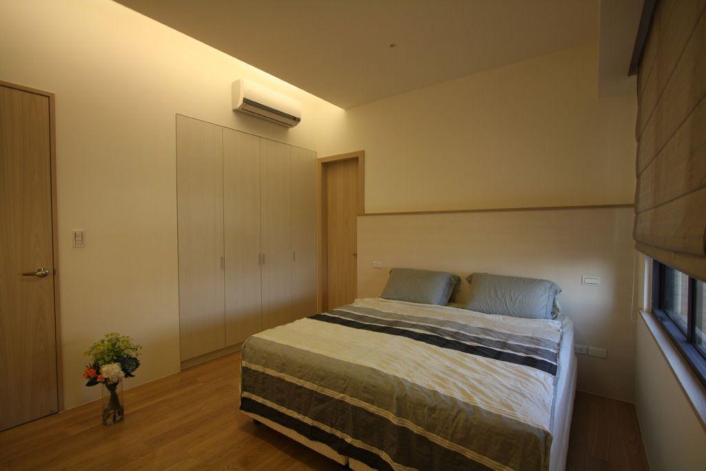 温馨极简宜家风卧室效果图