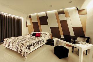 创意后现代混搭 卧室床头背景墙设计