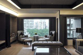 素雅别致现代公寓景观窗设计