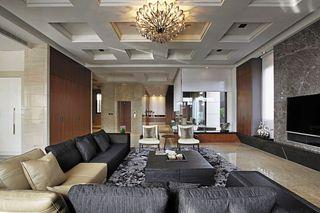 现代日式风装修200平别墅设计