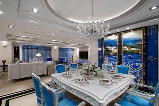 蓝色新古典餐厅案例图