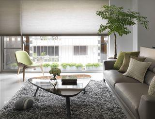 时尚灰色系简约宜家风 高层公寓设计