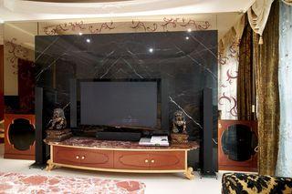 現代歐式風格電視背景墻設計