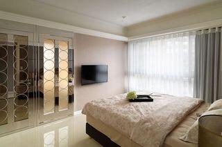 潮流现代卧室背景墙设计