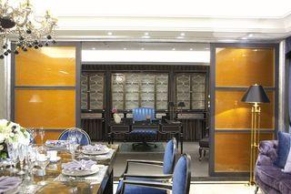 古典欧式风 家居推拉门隔断设计