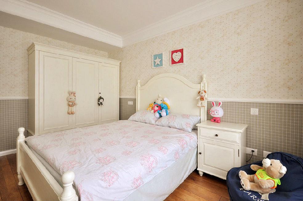 美式儿童房衣柜装饰设计