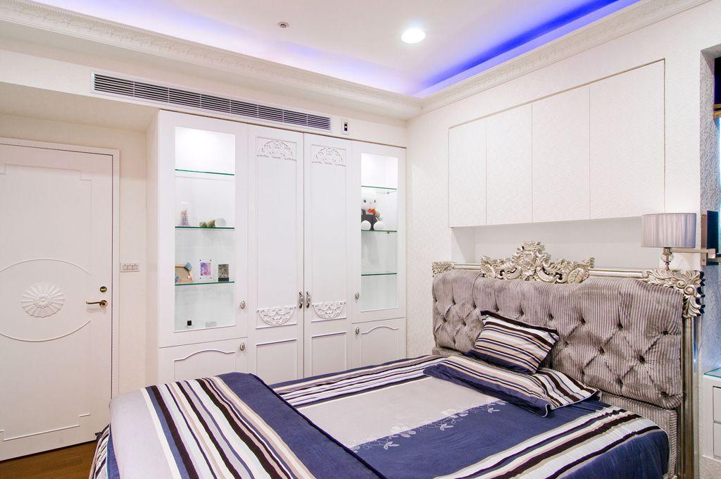 时尚现代欧式卧室 展示柜效果图
