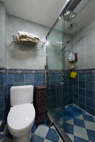 混搭风格卫生间瓷砖效果图