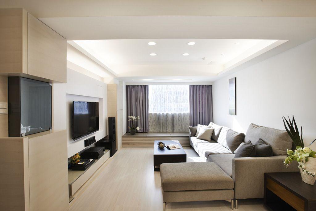 简约现代三居客厅家装设计