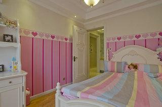 粉色打造浪漫欧式儿童房案例图