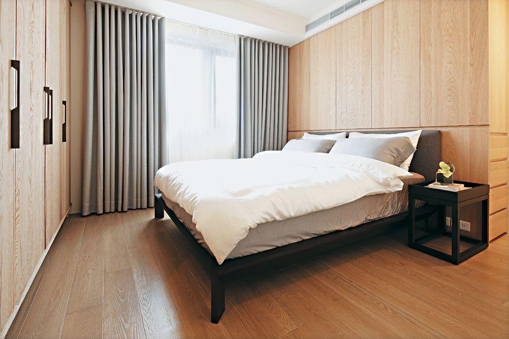 温馨宜家美式 原木卧室效果图